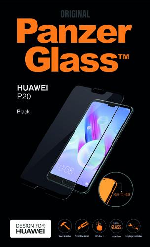 PanzerGlass tvrzené sklo pro Huawei P20, černé