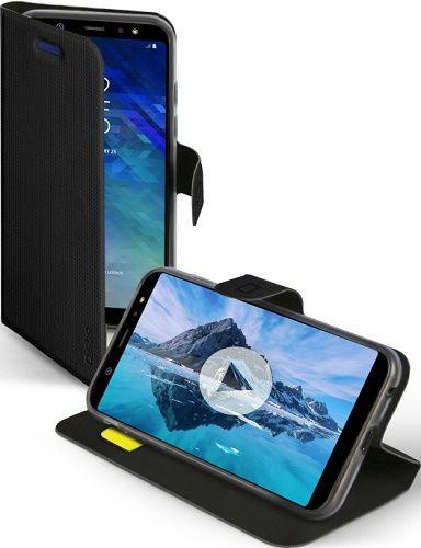 SBS Book Sense pouzdro pro Samsung Galaxy A6 2018, černé