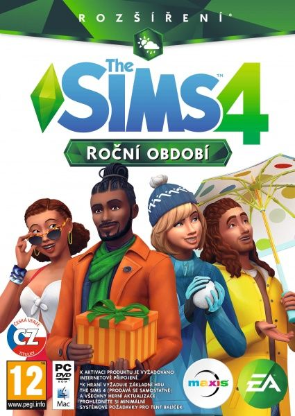 Sims 4: Roční období - PC hra