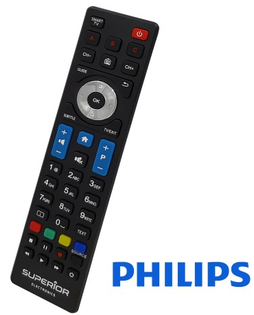 Superior RC UNI TV Philips
