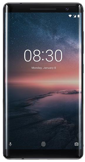 Nokia 8 Sirocco černý