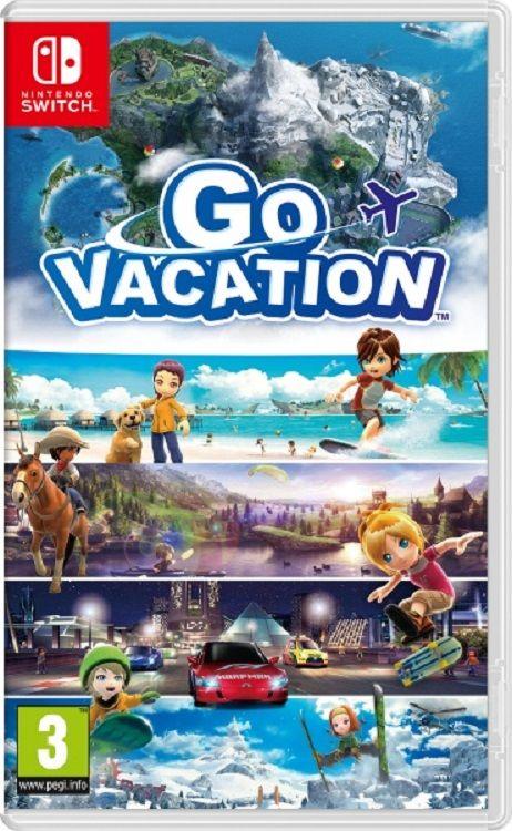 Go Vacation - Nintendo Switch hra