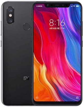 Xiaomi Mi 8 128 GB černý