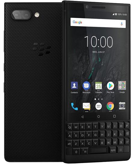 BlackBerry Key2 128 GB černý
