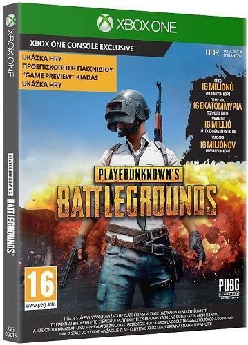 PlayerUnknowns Battlegrounds v1.0 Xbox One hra