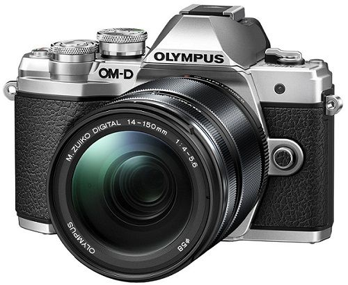 Olympus E-M10 Mark III + 14-150mm II střibrný + dárek Olympus M.Zuiko ET-M4518 45mm (černý) - objektiv zdarma