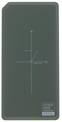 Remax Proda PPP-33 powerbanka, bílo-zelená