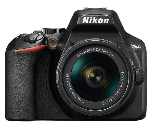 Nikon D3500 + AF-P DX NIKKOR 18-55 mm VR + dárek Nikon DSLR Bag zdarma