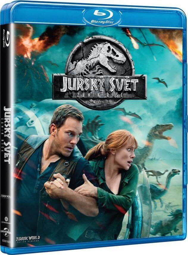 Jurský svět: Zánik říše - Blu-ray film