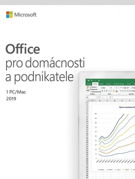 Microsoft Office 2019 pro domácnosti a podnikatele