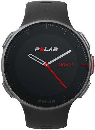 Polar Vantage V HR černé