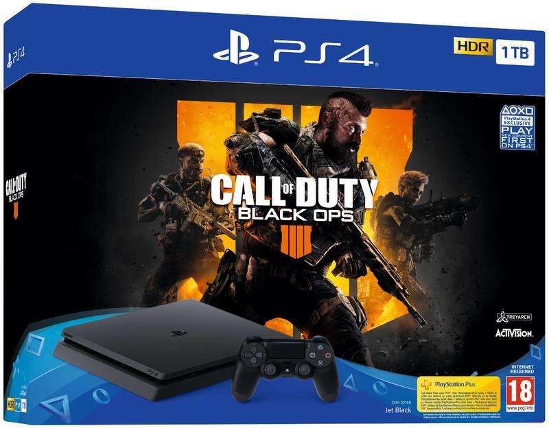 Sony PlayStation 4 Slim 1TB + Call of Duty: Black Ops IV