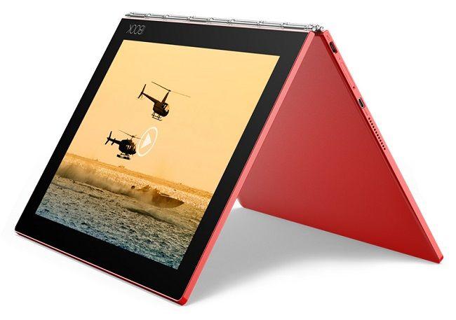 Lenovo Yoga Book ZA160157CZ červený