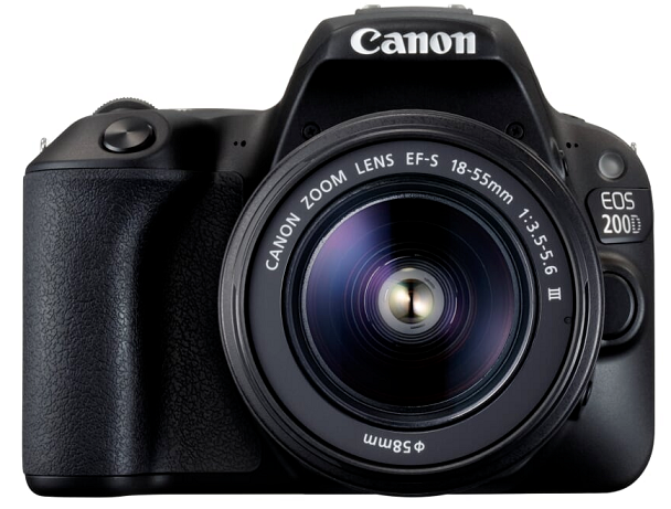 Canon EOS 200D + Canon EF-S 18-55mm f/3,5-5,6 DC III