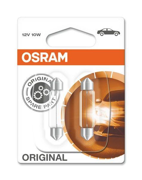 OSRAM SV8.5 10W 41 mm 12 V, Autožárovka