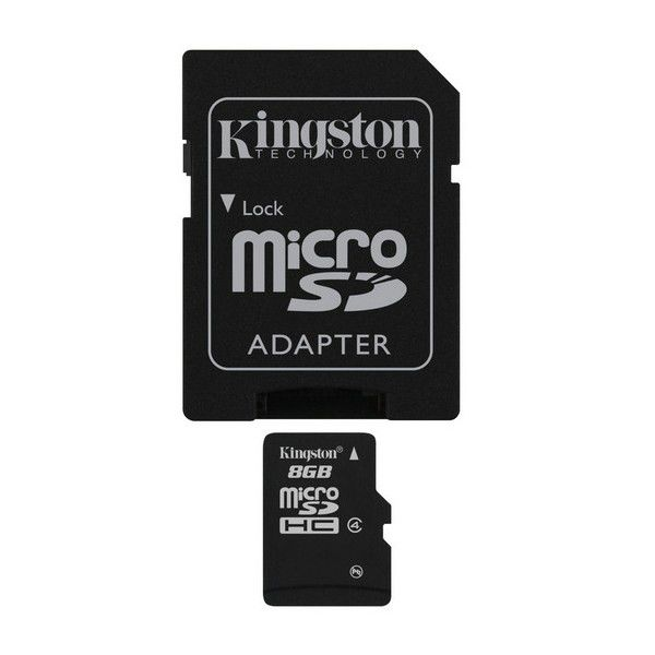 Kingston 8GB MIKRO SDHC Card Class 4 - paměťová karta