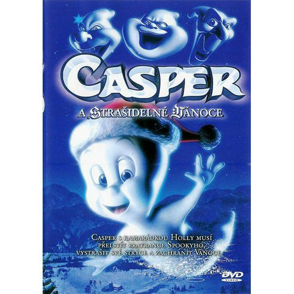 Casper a strašidelné Vánoce - DVD film