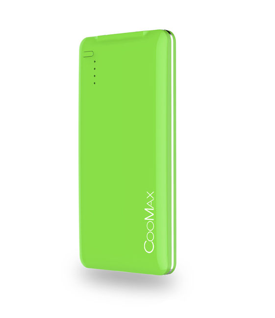 COOMAX C1 Power bank-4400mA (zelený)