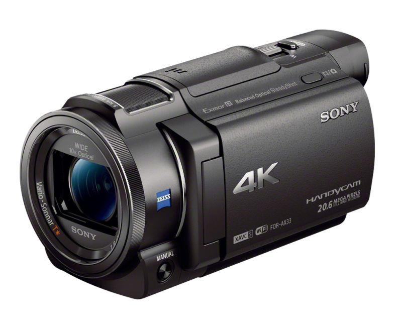 Sony FDR-AX33 - 4K videokamera