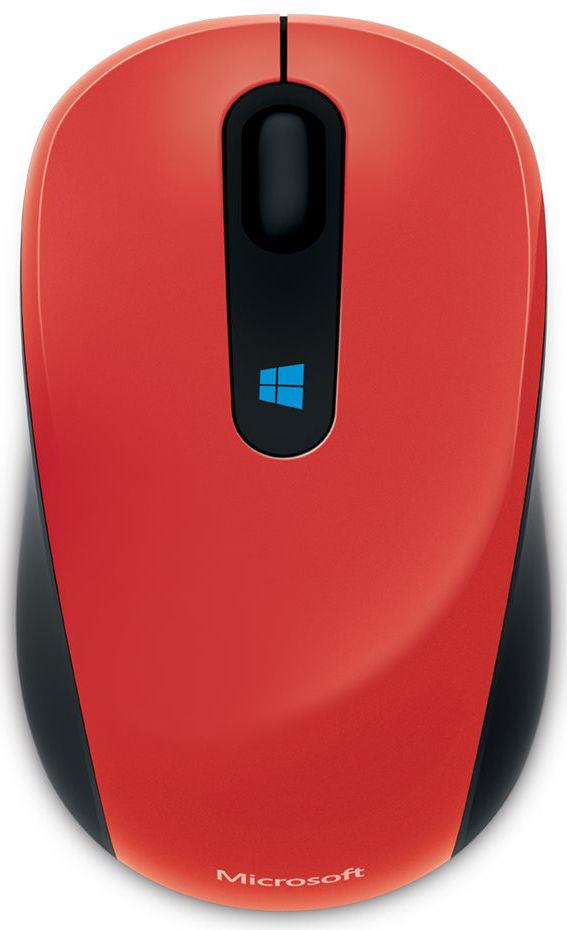 Microsoft Sculpt Mouse (červená)