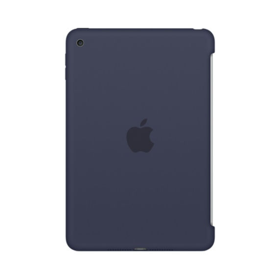 Apple iPad mini 4 Silikonové pouzdro - (Midnight Blue) MKLM2ZM/A