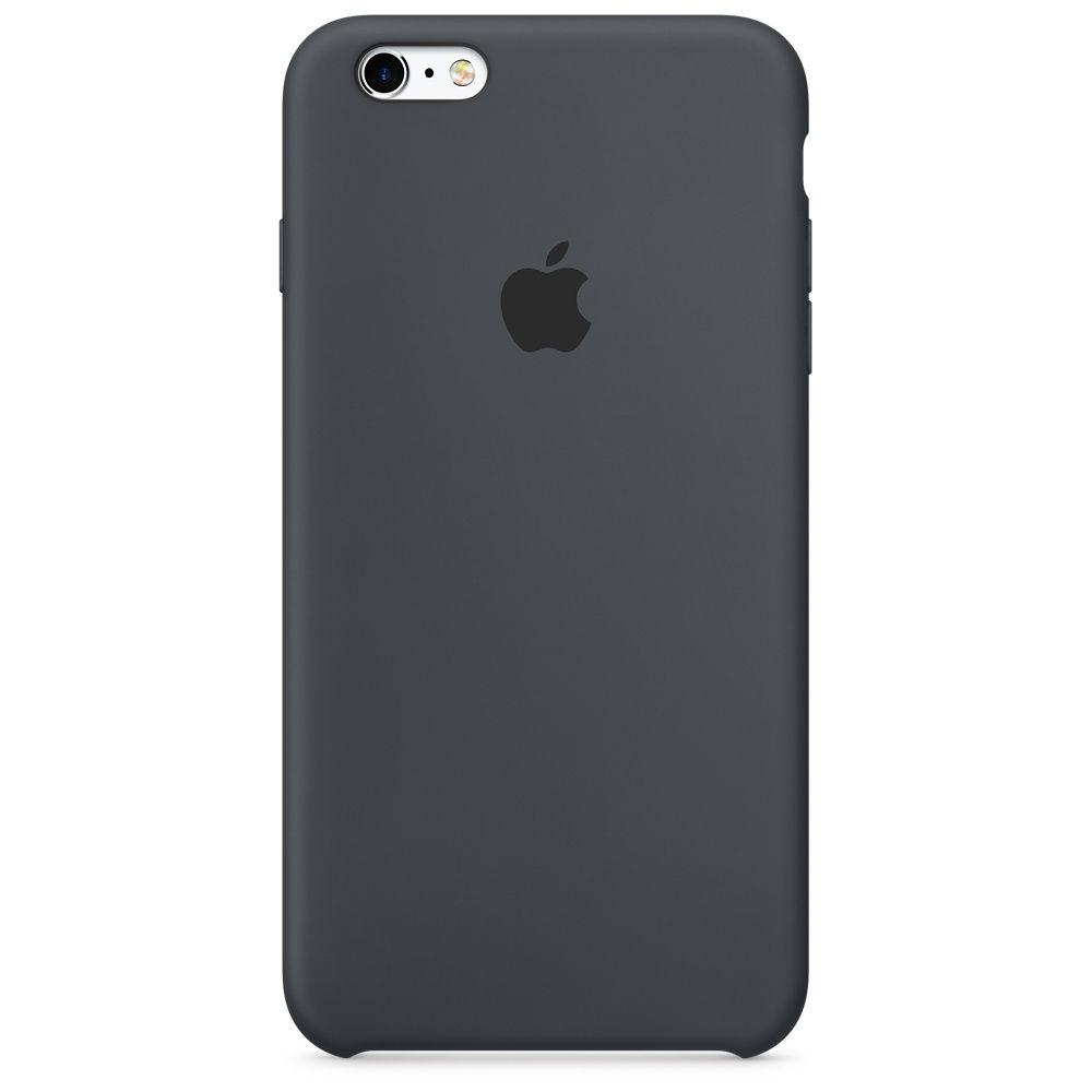Apple silikonový kryt pro iPhone 6S, uhlově šedý
