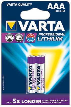 Varta Professional Lithium - AAA, 2ks
