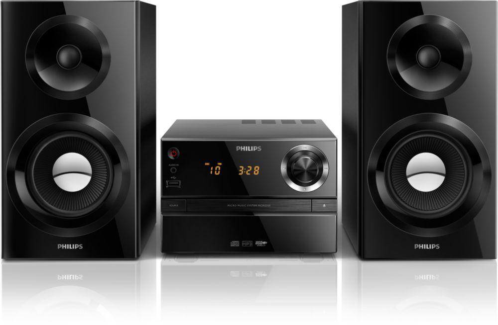 Philips MCM2350/12 (černý)