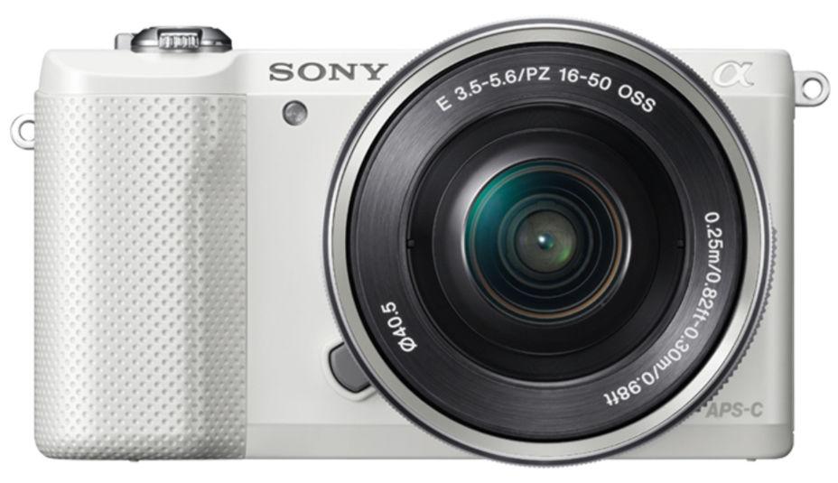 Sony Alpha A5000 + 16-50 PZ (bílý)