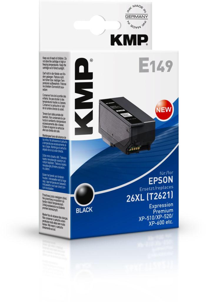 KMP E149 (T2621) 26XL (černá)