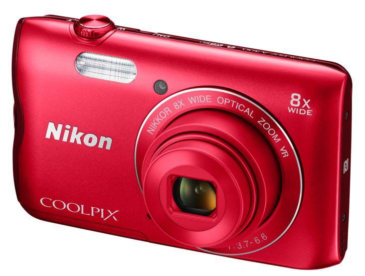 Nikon Coolpix A300 (červený)