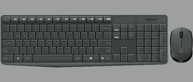 Logitech MK235 (920-007933) - CZ klávesnice a myš
