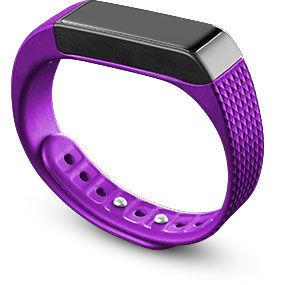 CellularLine náramek s dotyk.disp. EasyFit Touch fialovo černý