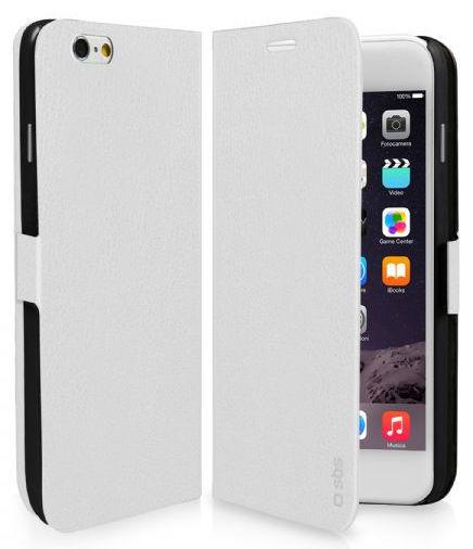 SBS Book pouzdro pro Apple iPhone 6/6S Plus (bílé)