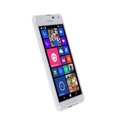Krusell BODEN pouzdro pro Microsoft Lumia 650 (transparentní bílé)