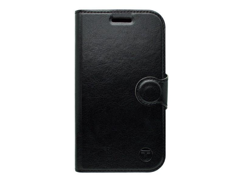 MOBILNET HUA P9 Lite čierna bočná knižka