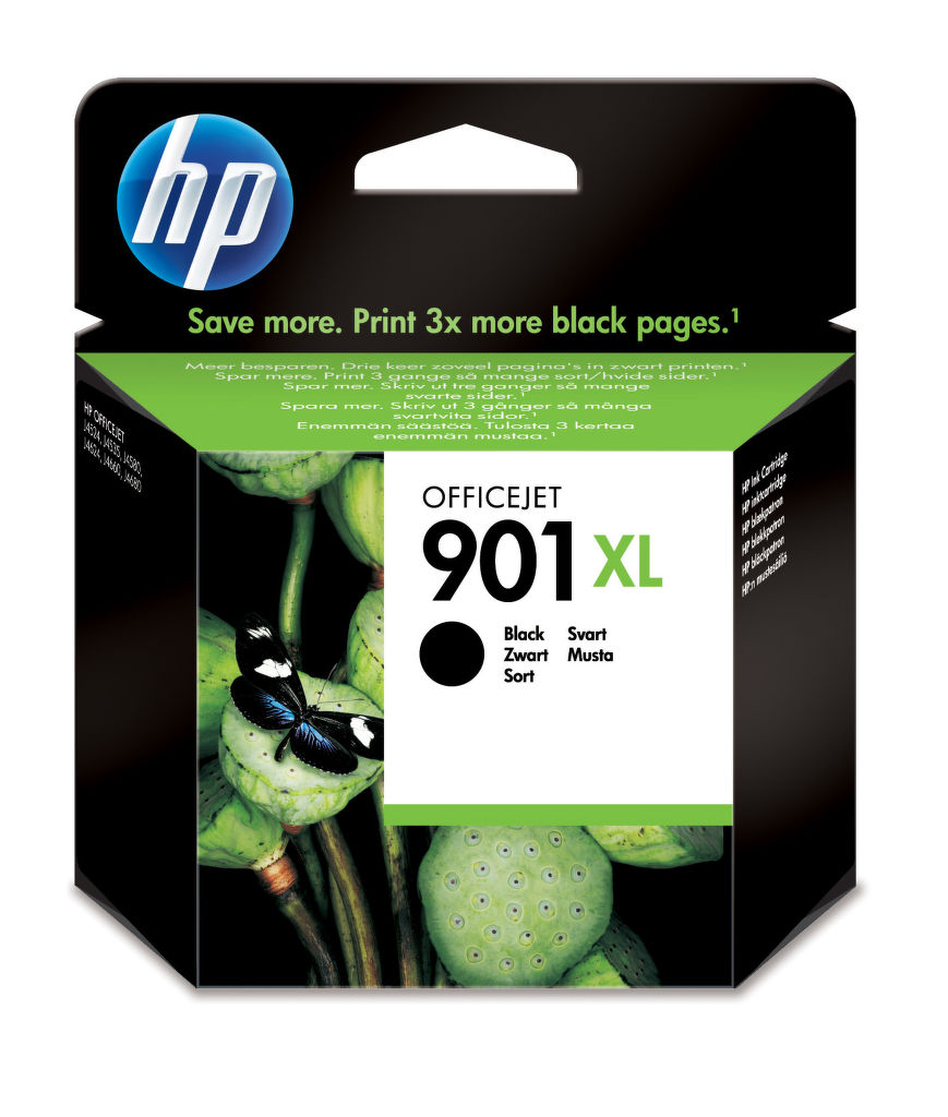 HP CC654AE No.901XL black - atrament