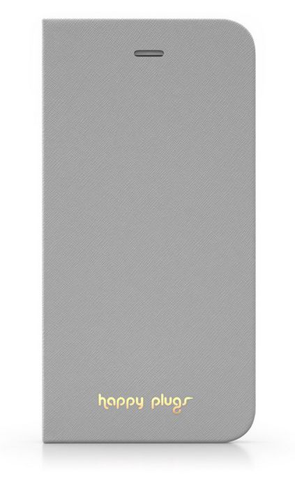 Happy Plugs flipové pouzdro pro Apple iPhone 6/6S (šedé)