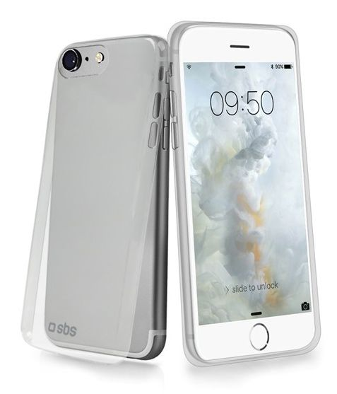 SBS pouzdro pro iPhone 7 plus (slim transparent)