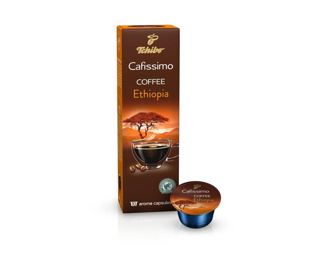 Tchibo Cafissimo Coffee Ethiopia (10ks)
