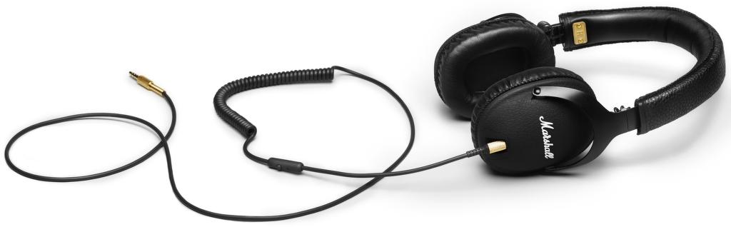 Marshall Monitor (černá) + dárek Carneo DA02EU - USB nabíječka (mix barev) zdarma