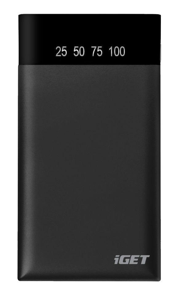 iGET powerbanka 5000 mAh, černá