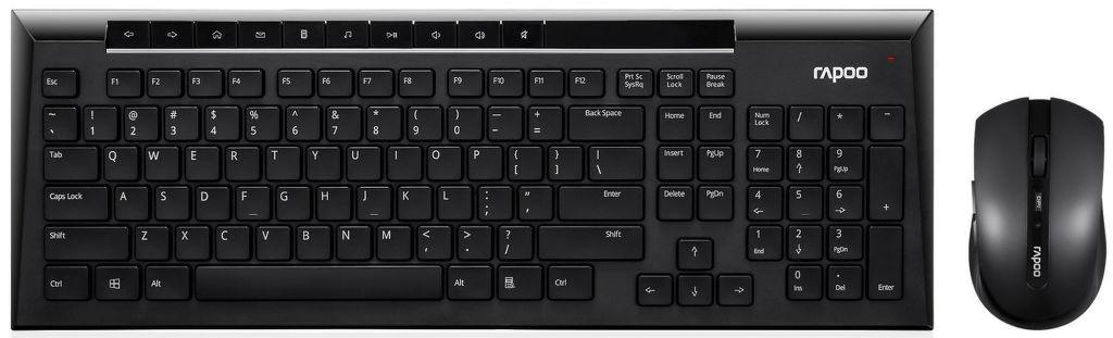 Rapoo 8200P - set klávesnice + myši