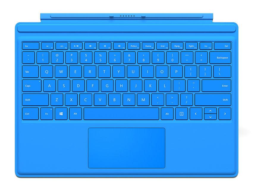 Microsoft Surface Pro 4 Cover (jas.modrý)
