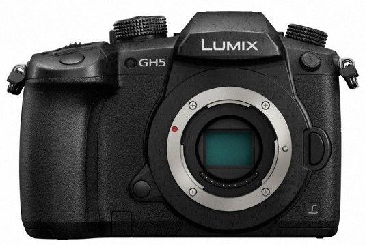 Panasonic Lumix DC-GH5 telo černý