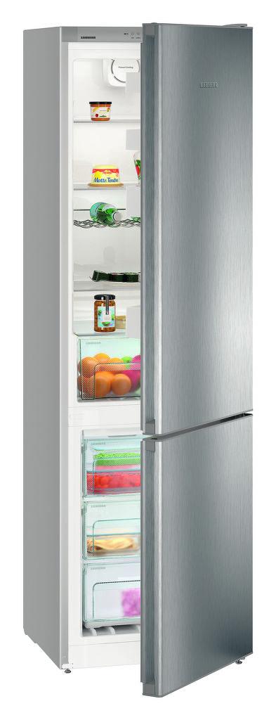 LIEBHERR CNPel 4813 (nerez) - kombinovaná lednice