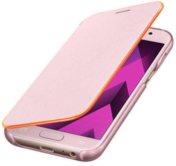 SAMSUNG Flipové pouzdro pro Galaxy A5 2017 Neon (růžová)