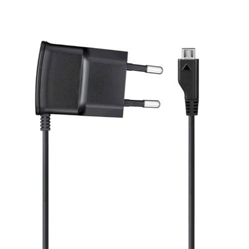 Cestovní nabíječka SAMSUNG ETA0U10E - micro USB (černá)