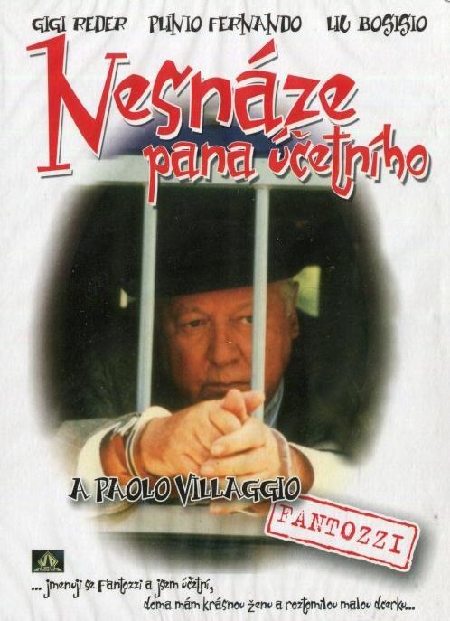 Nesnáze pana účetního - DVD film