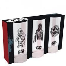 Star Wars set skleníc (3ks/290ml)